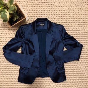 BEBE royal blue blazer